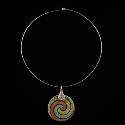 Necklace Rainbow Ag