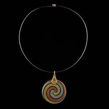 Necklace Rainbow Au