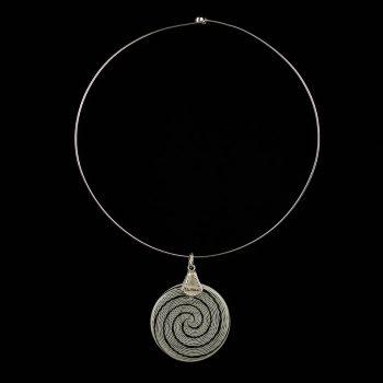 Collana Spiral Ag