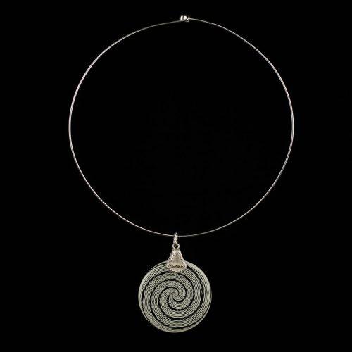 Necklace Spiral Ag