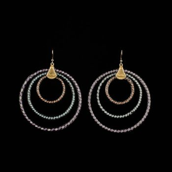 Earrings 3Rings au