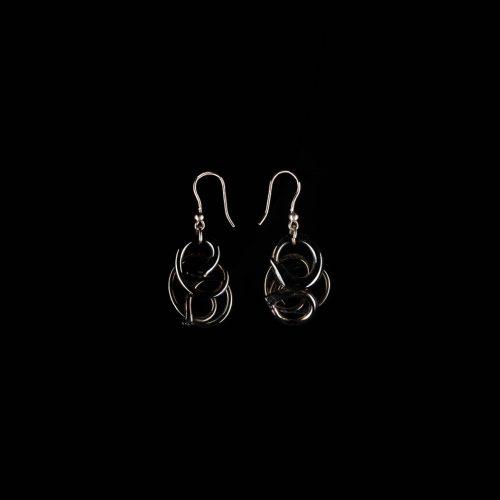 Earrings Black 1