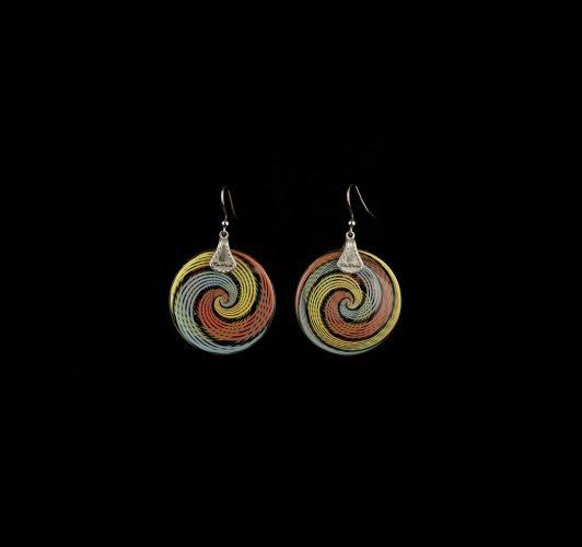 Earrings Rainbow Ag