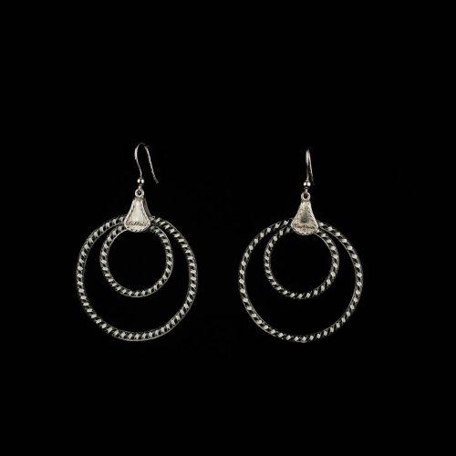 Earrings Ring B:W 2