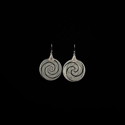 Earrings Spiral Ag